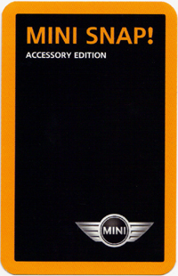MINI SNAP! Accessory Edition card (back)
