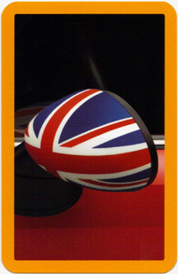 MINI SNAP! Accessory Edition card (Union Jack mirror cap)
