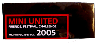 MINI United 2005 flashlight box
