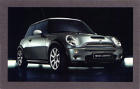 MINI USA Let's Motor card (Dark Silver)