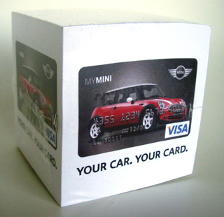 MyMINI Card notepad
