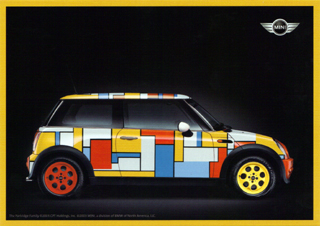 MINI USA The Partridge Family MINI postcard