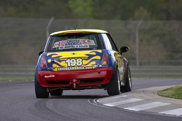 RSR Motorsports No. 198 MINI from 2010