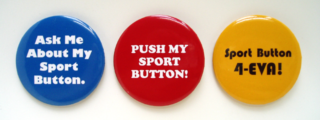sport button pins