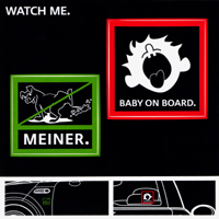 WATCH ME. sticker sheet