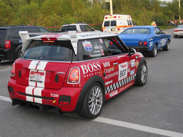 MINI CHALLENGE car No. 807