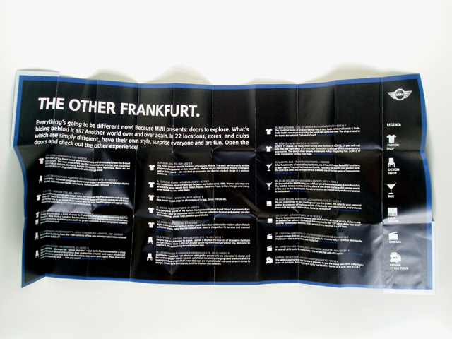 THE OTHER FRANKFURT guide (open)