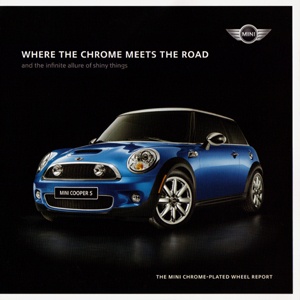 MINI chrome wheel brochure