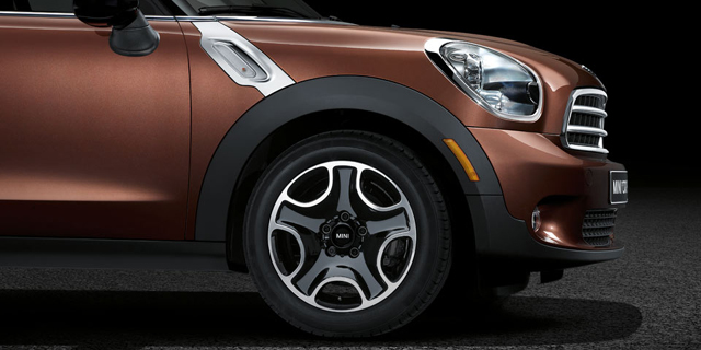 2013 MINI Paceman in Brilliant Copper Metallic