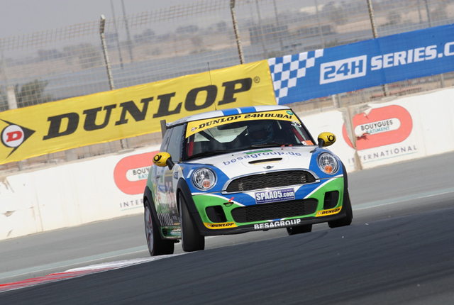 2012 24H Dubai Besaplast Racing Team 2 MINI