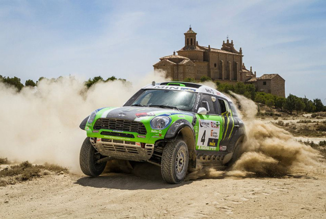 X-raid Team MINI at Baja Spain 2012