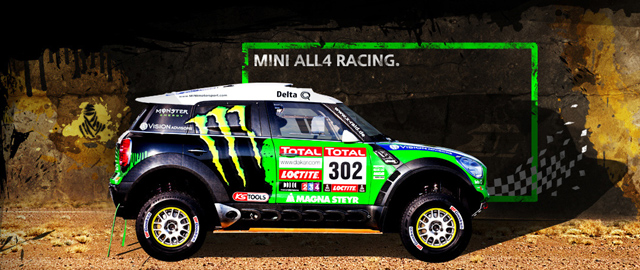 Dakar 2012 MINI ALL4 Racing