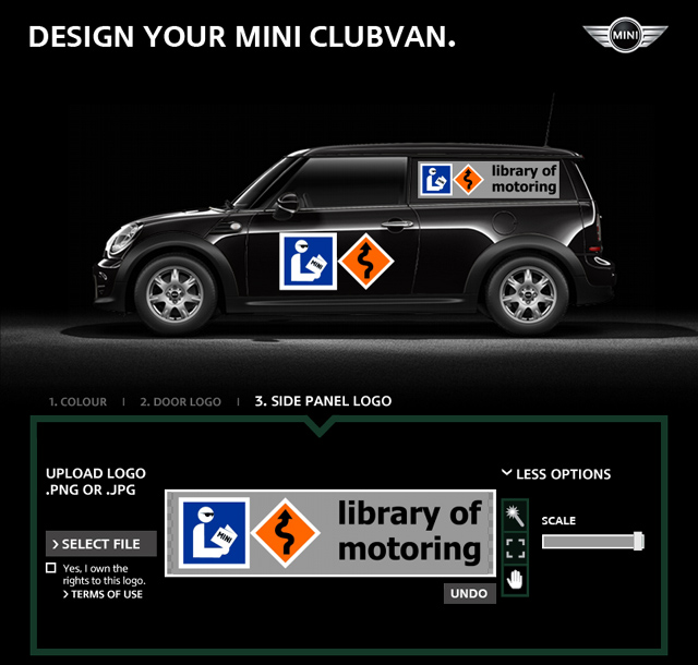Library of Motoring MINI Clubvan