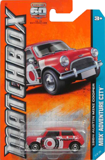 Matchbox 1964 Austin Mini Cooper (2013)
