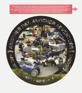 Matter Magazine MINI Coupe Adventure cover