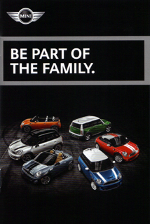 MINI model year 2012 pocket brochure