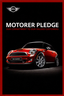 MOTORER PLEDGE card (front)