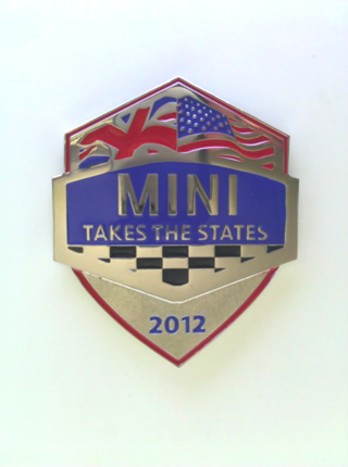 MINI Takes the States 2012 grille badge