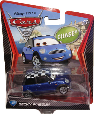 Disney Pixar Cars 2 MINI: Becky Wheelin