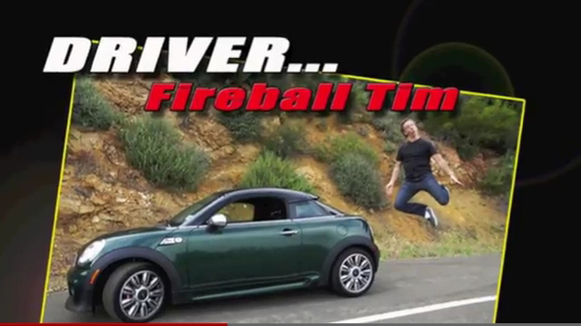 Ride Along with Fireball Tim: MINI JCW Coupe
