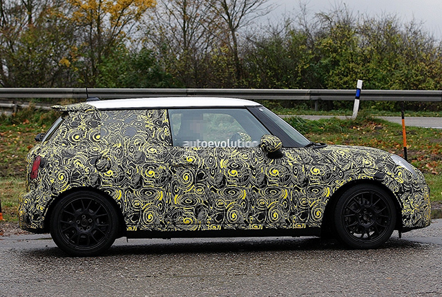 spy shot: 2014 MINI