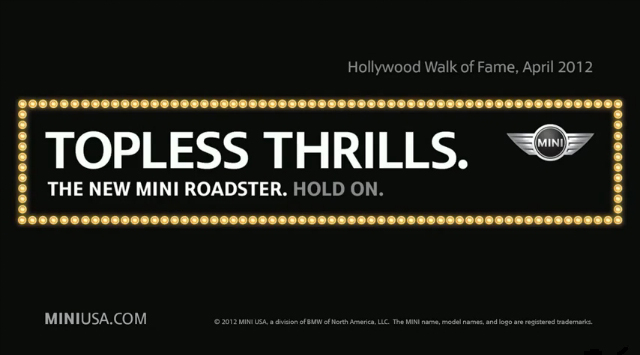 MINI Roadster: Topless Thrills video