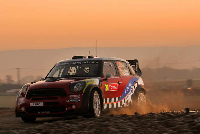 Rallye Monte-Carlo MINI No. 37 Day 1
