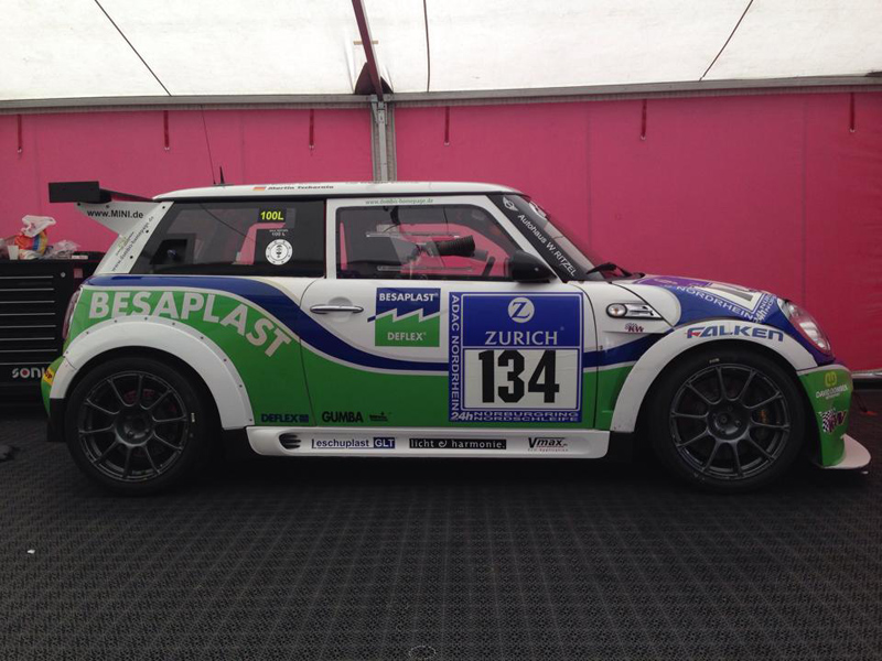 2014 24H Nürburgring Team Dombek MINI #134