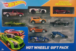 Hot Wheels 2014 Gift Pack