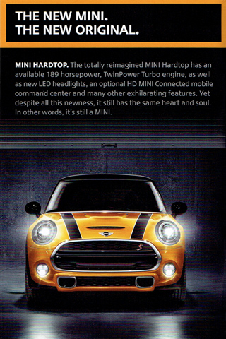 MINI 2014 pocket brochure (MINI Hardtop)