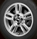 5-Star Spoke Alloy Wheel
