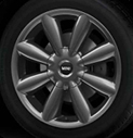 Turbo Fan Spoke Alloy Wheel Anthracite