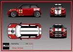 LAP Motorsports graphics