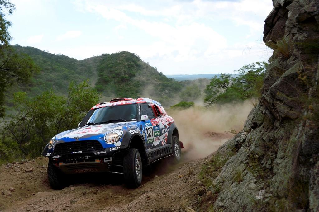 X-raid Team at Dakar 2016
