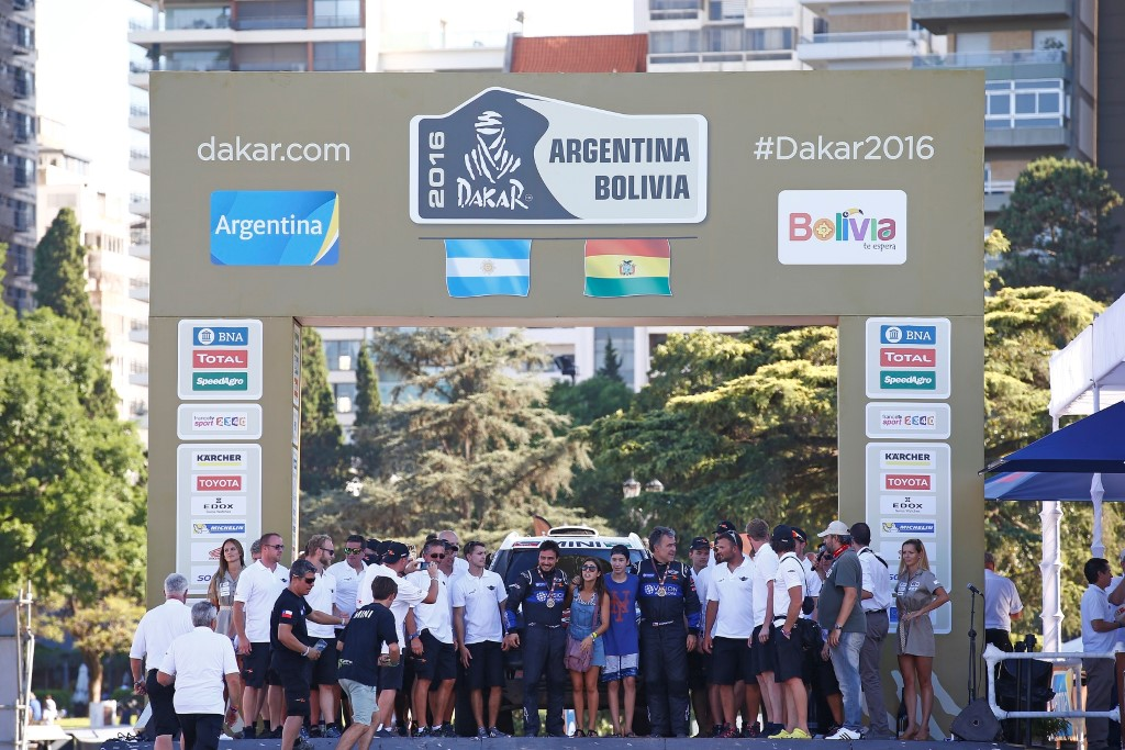 X-raid Team at Dakar 2016